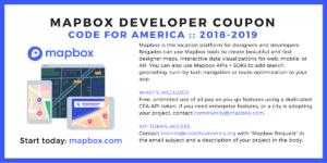 Mapbox Coupon
